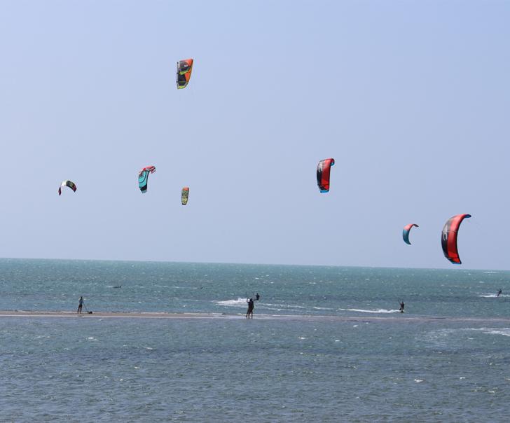 8a29fc776dd Local ideal para prática de kitesurf.